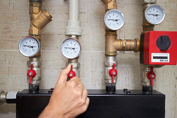reglage pression chaudiere