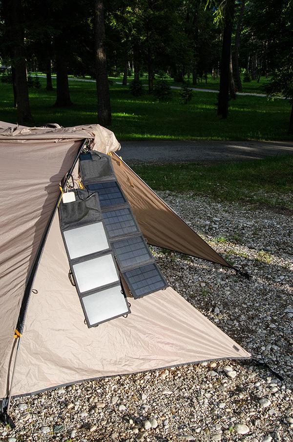panneau solaire portable camping
