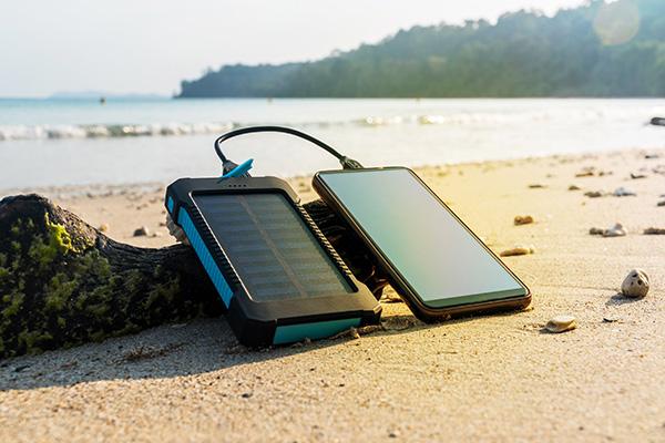 panneau solaire portable chargement