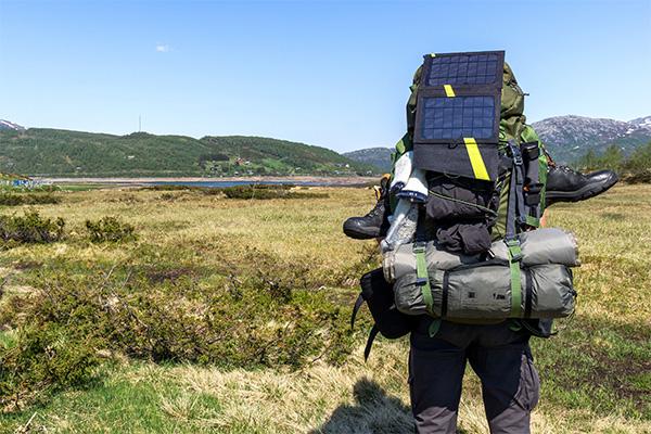 Le sac à dos solaire