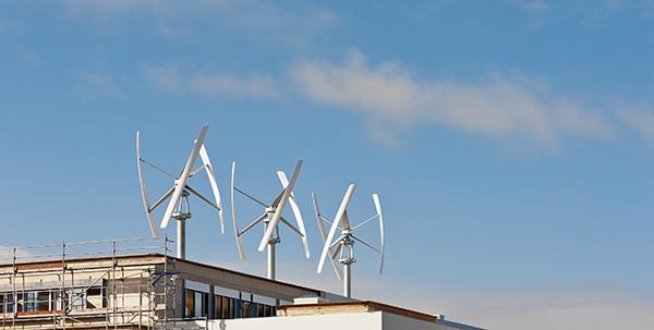 eolienne verticale toit