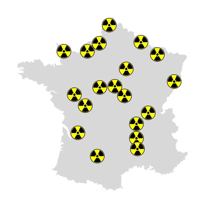 La place de l'énergie nucléaire en France