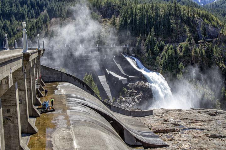 Le fonctionnement de l'énergie hydraulique