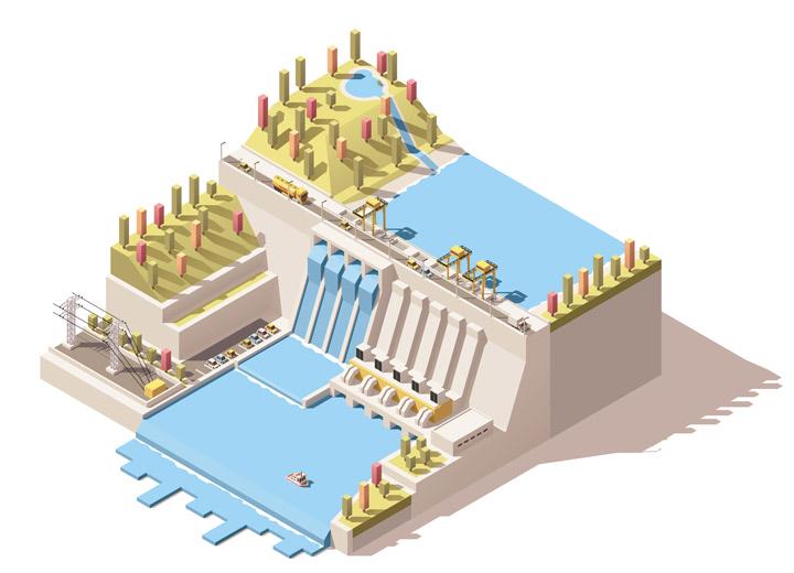 Top Tout savoir sur l'énergie hydraulique - Direct Energie PX25