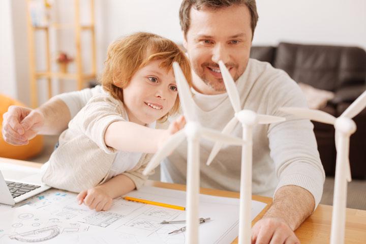 Le prix d'une éolienne domestique