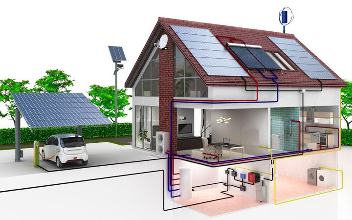 Les avantages et inconvénients des maisons solaires passives