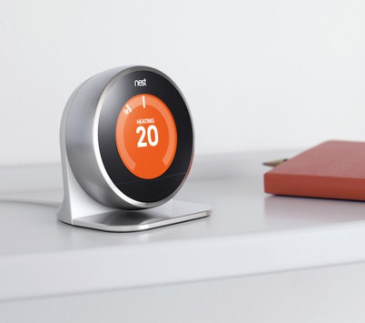 Top 10 des objets pour une maison plus intelligente - Thermostat connecte nest ...