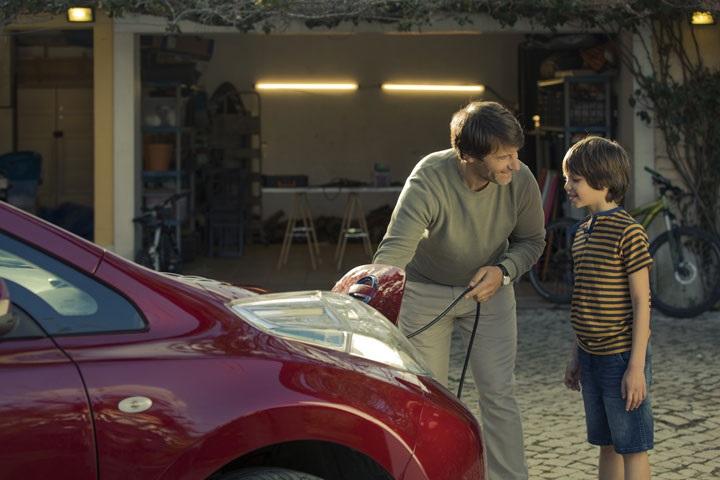 voiture électrique à grande autonomie