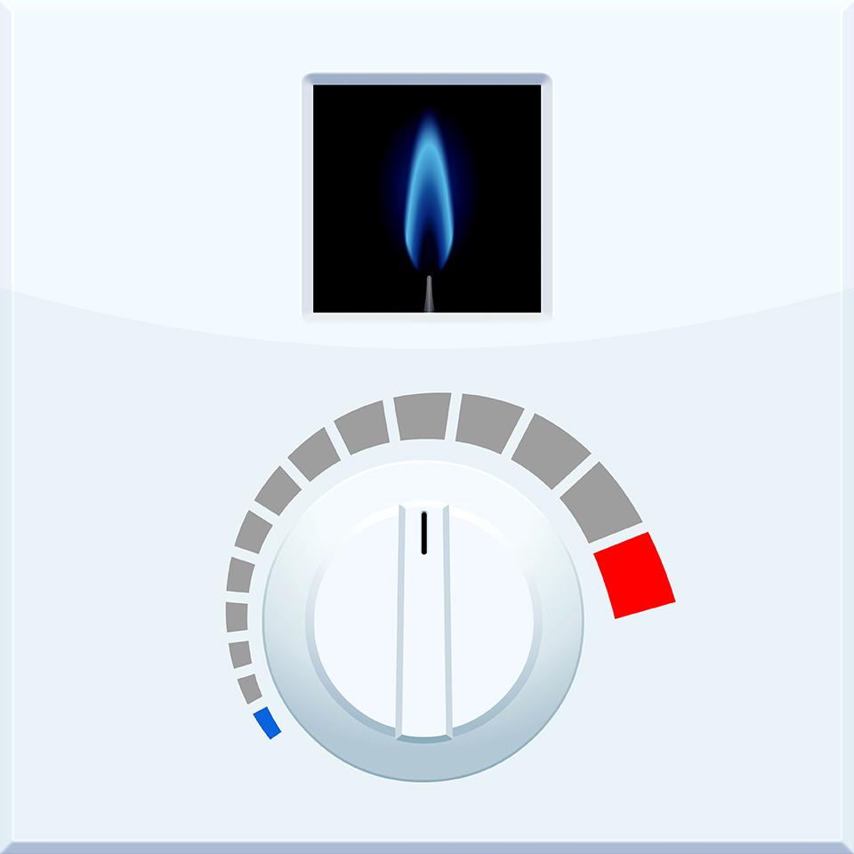 Comment fonctionne un thermostat pour chaudière gaz ?