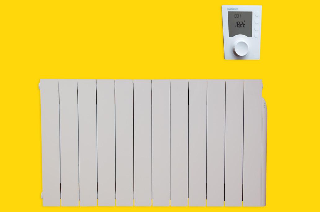 Fonctionnement du radiateur à inertie fluide