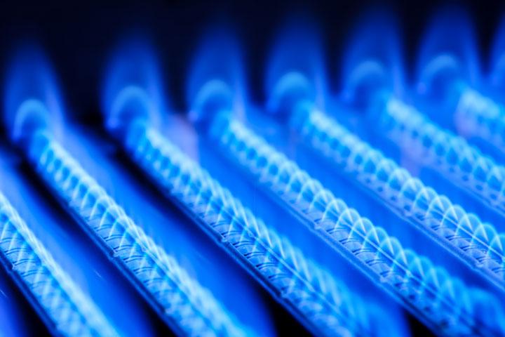 Flammes gaz propane