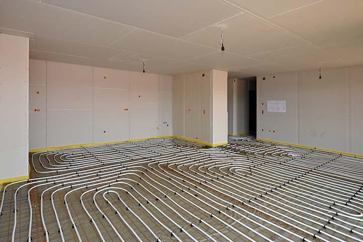 le plancher chauffant syst me de chauffage au go t du jour direct energie. Black Bedroom Furniture Sets. Home Design Ideas