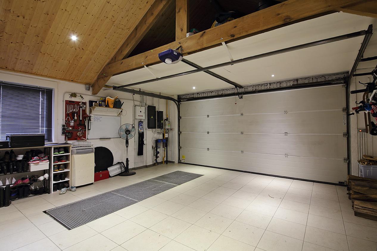 L'isolation des portes du garage