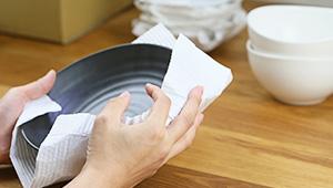 pr parer un carton de d m nagement pour verre vaisselle. Black Bedroom Furniture Sets. Home Design Ideas