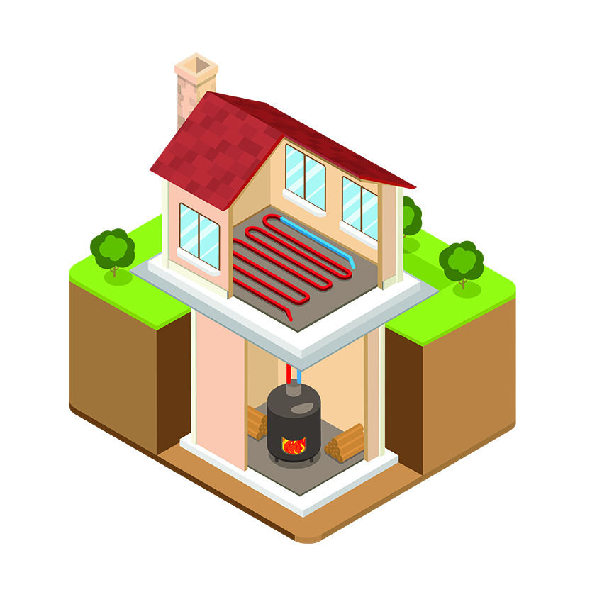 Principe et fonctionnement d'une chaudière à bois bûche