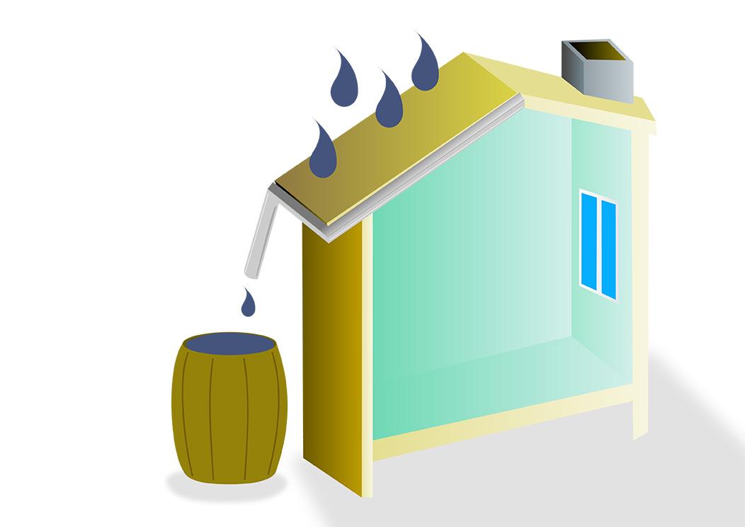 Récupérer l'eau de la maison