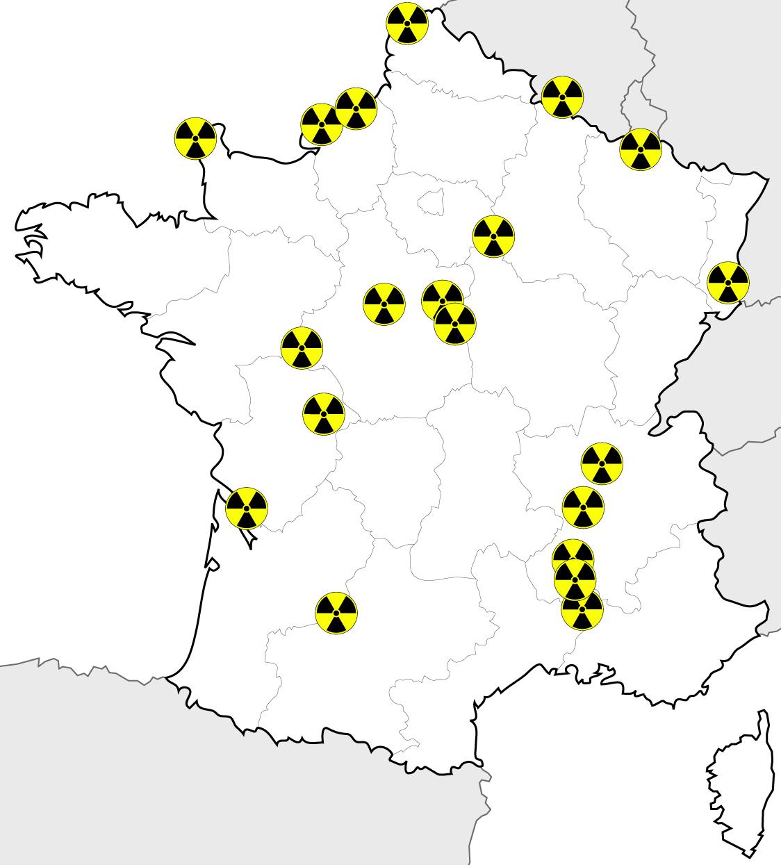 centrales nucleaires en france les chiffres