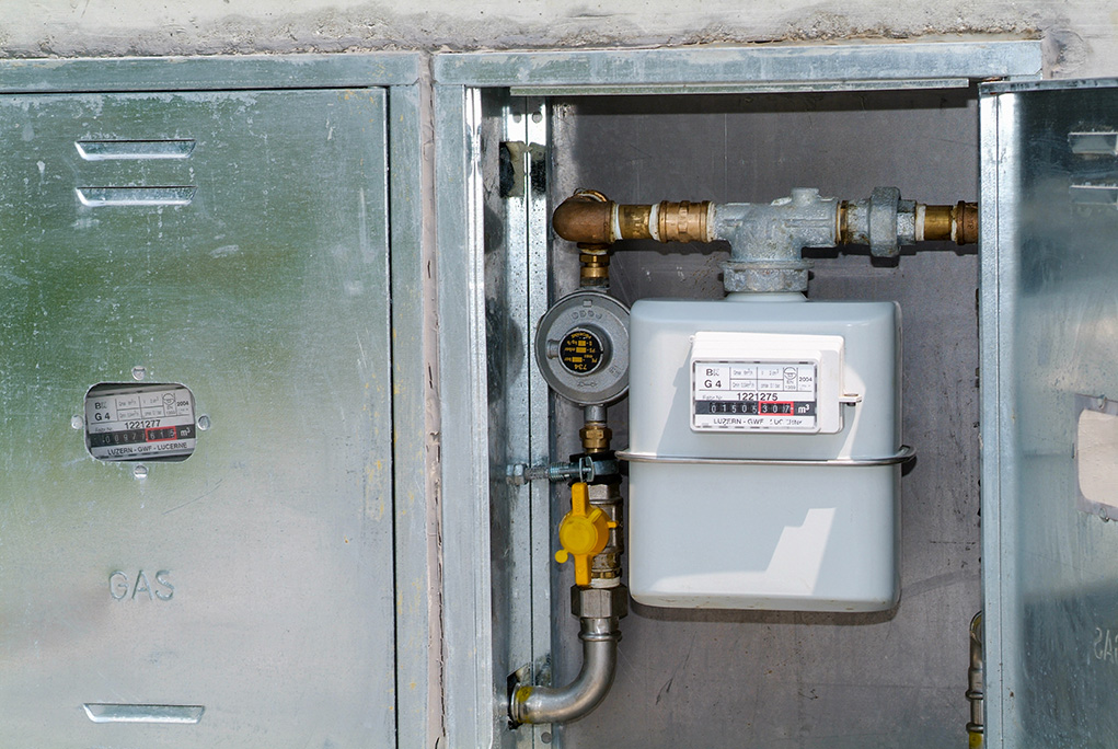 que contient un coffret de gaz classique