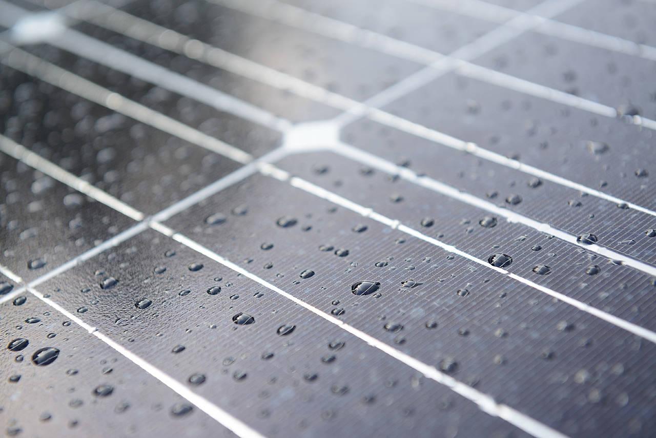 Des panneaux solaires dédiés