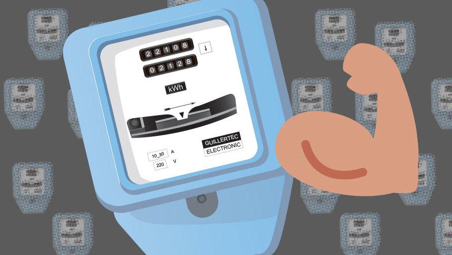 Le compteur d lectricit ou de gaz pour les nuls les bases du compteur le - Comment lire un compteur electrique ...